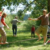Video - Slackline action