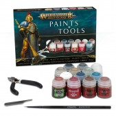 Warhammer: Age of Sigmar Paints + Tools Set