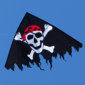 Drak DELTA JOLLY ROGER Black