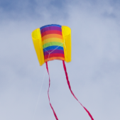 Drak Beach Kite Rainbow